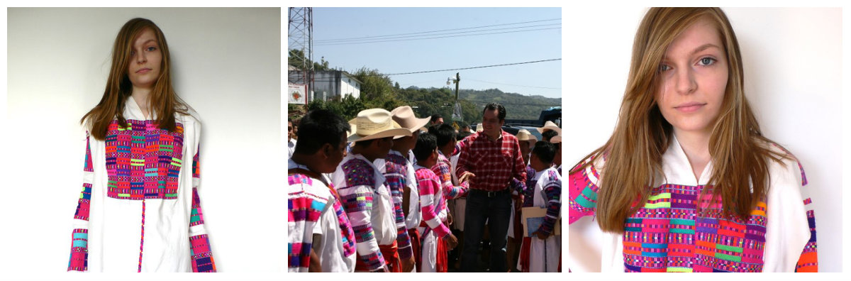 Traditional Dresses from San Juan Cancuc